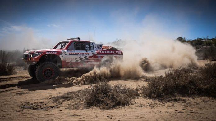 Honda Ridgeline takes 4th successive course triumph at Baja 500