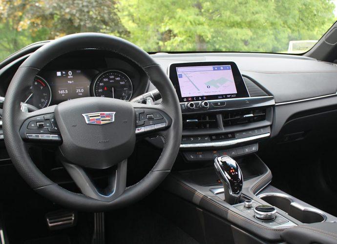 2021 Cadillac CT4-V Practice Run Testimonial V is for Deja Vu