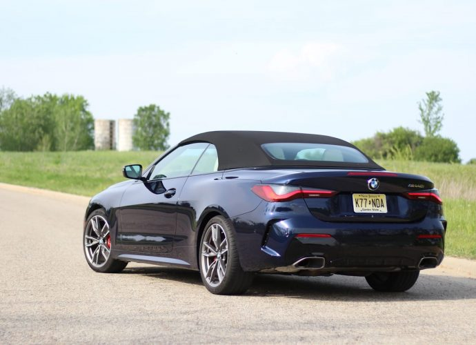 2021 BMW 4 Collection Convertible First Drive|Soft top for the softer 4 Collection