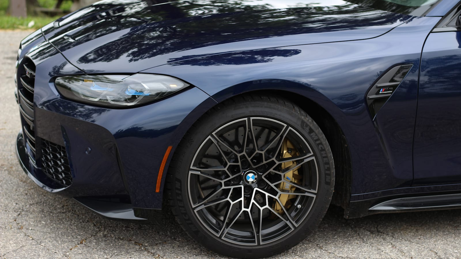 2021 BMW M3 Competitors versus the Indiana Nürburgring