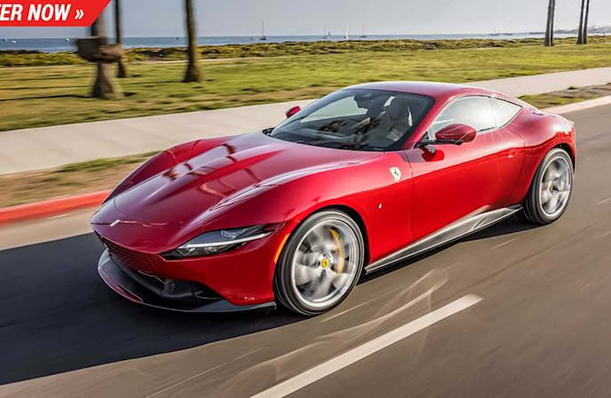 The 2021 Ferrari Roma is a stunning head-turner and also you can win one right here