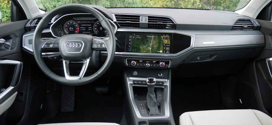 2022 Audi Q3 Testimonial 3rd as well as 2nd perceptions