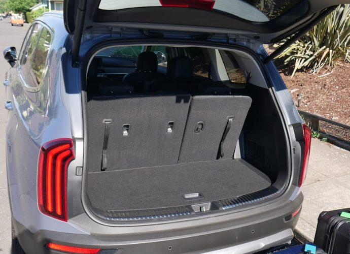 Kia Telluride Travel Luggage Examination|Just how much fits behind the 3rd row?