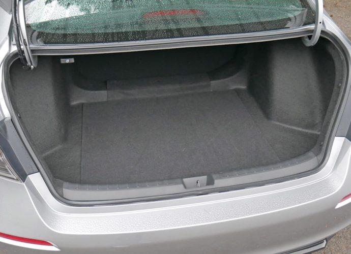 2022 Honda Civic Baggage Examination|Not-so-compact trunk