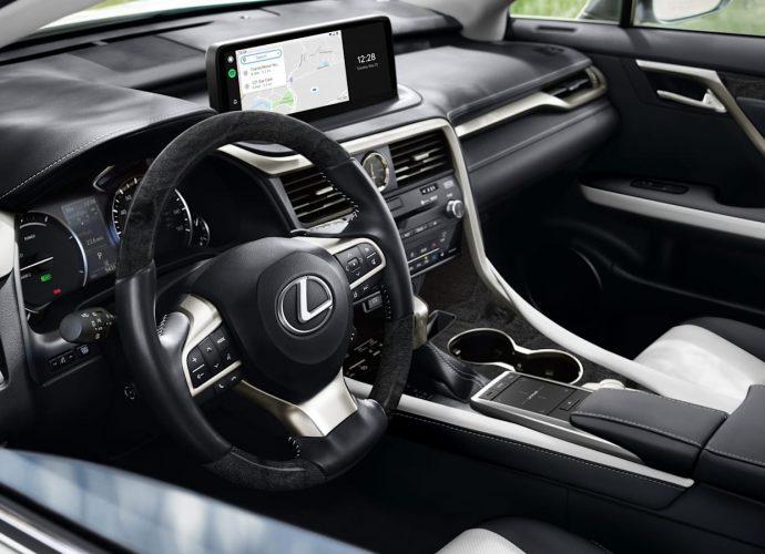 2022 Lexus RX L Black Line scandal sheet dims the three-row RX