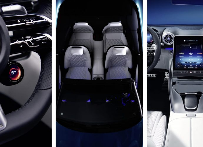 Mercedes claims lavish brand-new AMG SL-Class inside has Gullwing-era hints
