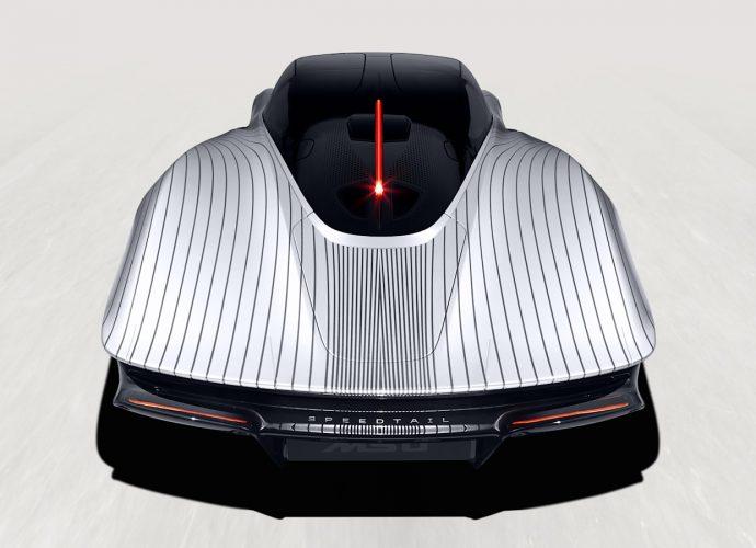 McLaren Speedtail 'Albert' has a paint work you definitely should see