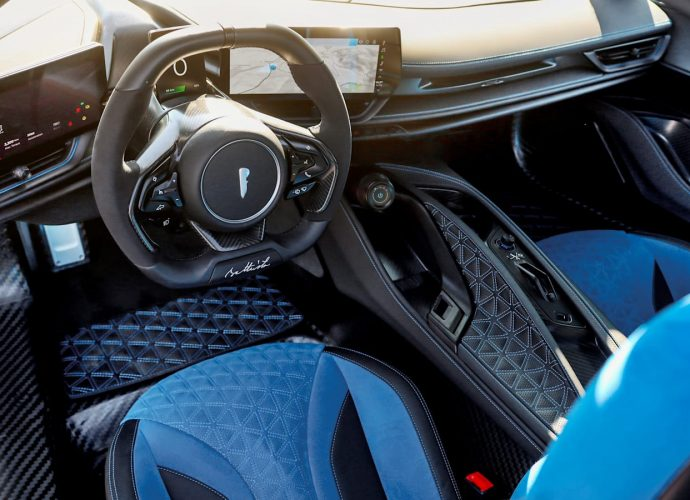 Pininfarina Battista manufacturing cars and truck exposed to begin Monterey Cars and truck Week