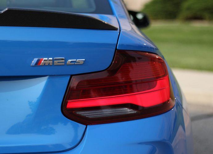 BMW M2 CS Practice Run
