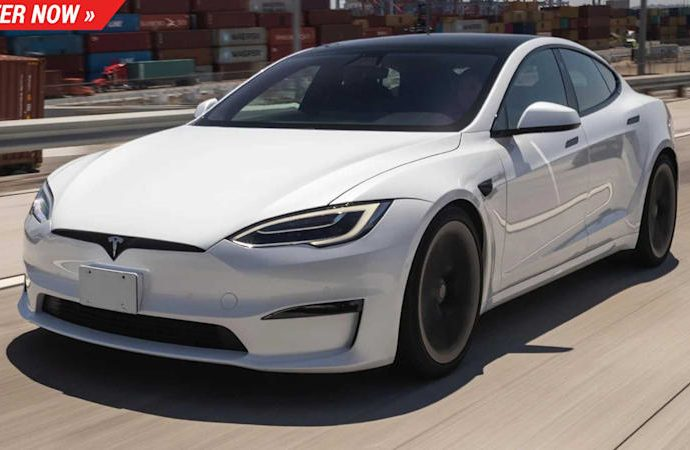 Win a Tesla Design S Plaid as well as hit 60 miles per hour in 2 secs
