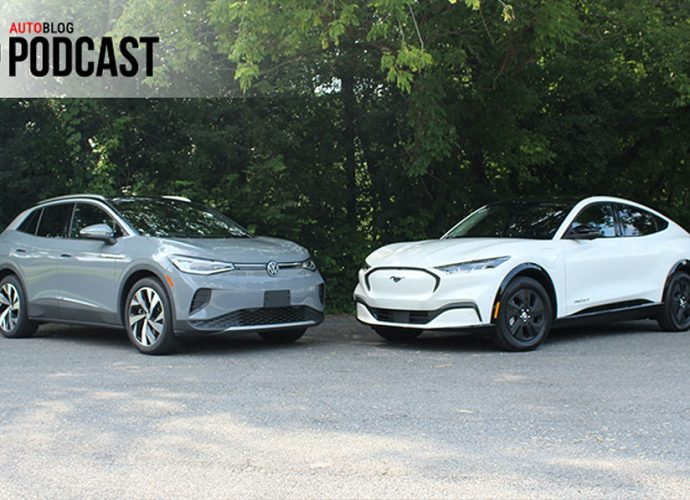 Ford Mustang Mach-E vs. Volkswagen ID.4|Autoblog Podcast #692
