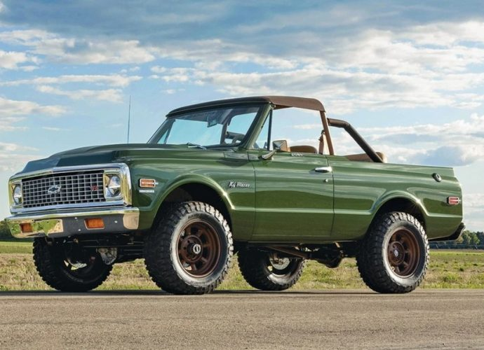 This is your last possibility to win a 1970 Chevy K5 Sports jacket worth $250,000