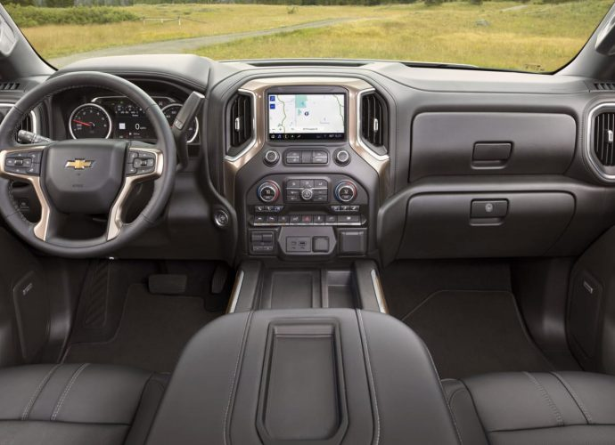 Below's the brand-new 2022 Chevy Silverado inside. It's a lot far better