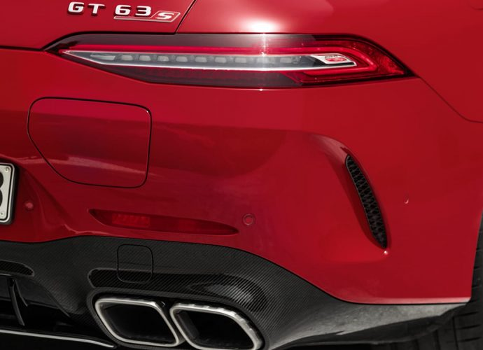 Mercedes AMG GT 63 S E Efficiency V8 crossbreed's 831 hp swings for the fencings