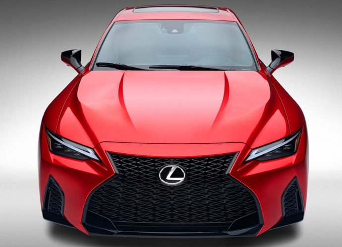 2022 Lexus IS 500 F Sporting Activity First Drive