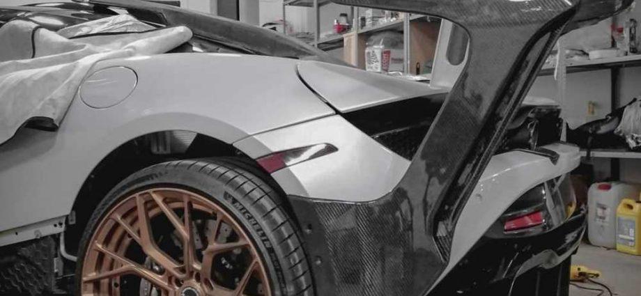 McLaren 720 S obtains Senna GTR-inspired back wing