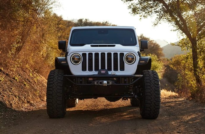 Jeep ultimately included a V8 to the Wrangler and also you can win one right here