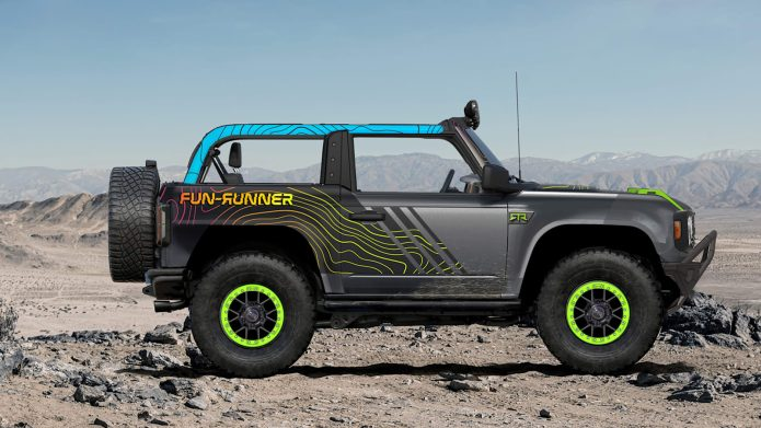 Ford Bronco at SEMA discloses brand-new Ford Efficiency Components and also 6 SEMA develops