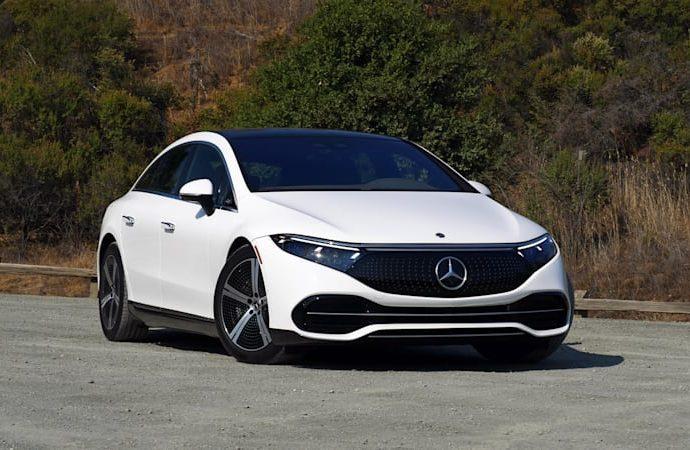 2022 Mercedes-Benz EQS First Drive Testimonial